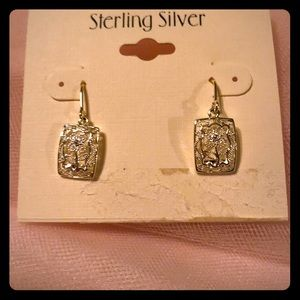 Jewelry - Beautiful sterling silver earrings. Never worn